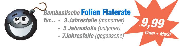 Folienflate